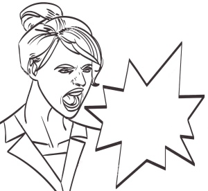 vector-art-screaming-woman-lineart-isolated-eps-76971208